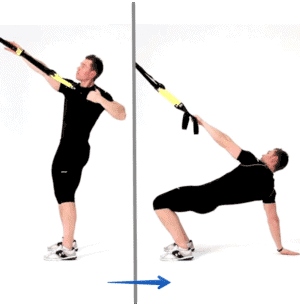 Exercice TRX - power pull trx
