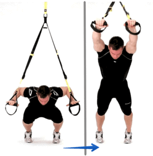 Exercice TRX - superman trx