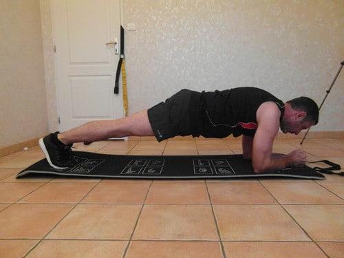 Planche abdominale RKC