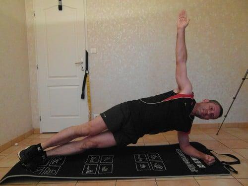 Faire du sport quand on a pas le temps - Planche latérale