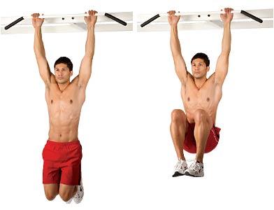 Exercices abdos - Relevés de jambes débutant