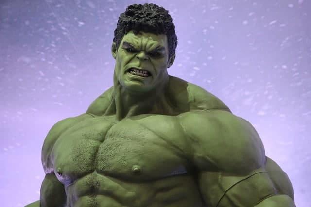 prendre du muscle rapidement comme Hulk