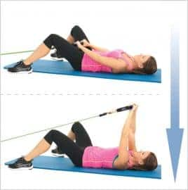 Programme Insanity et élévations frontales pour muscler les épaules