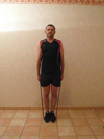 Musculation épaule - haussement d'épaules 1