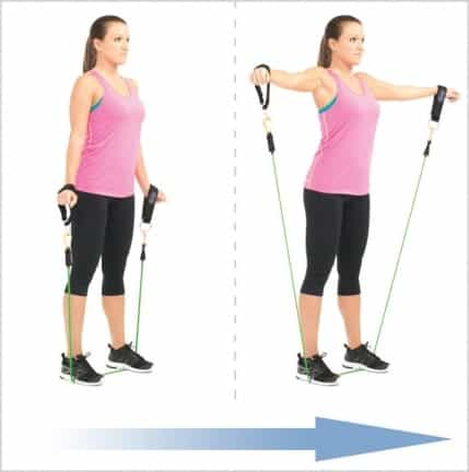lateral elevations for insanity program