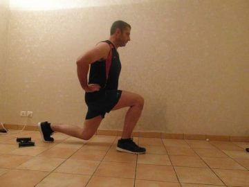 Faire du sport quand on a pas le temps - Fentes 4