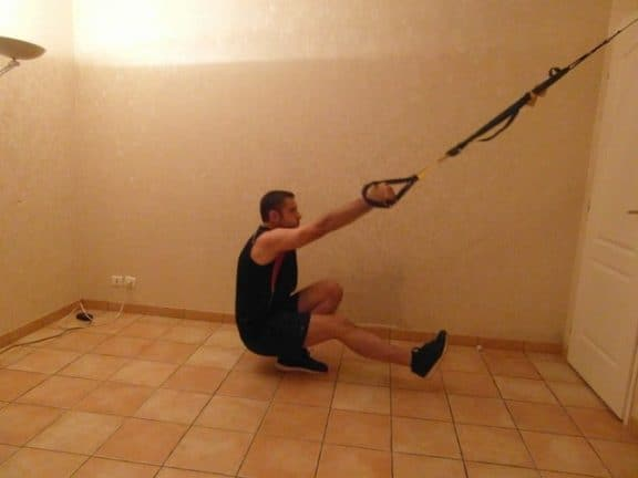 Squat une jambe sport chez soi 1