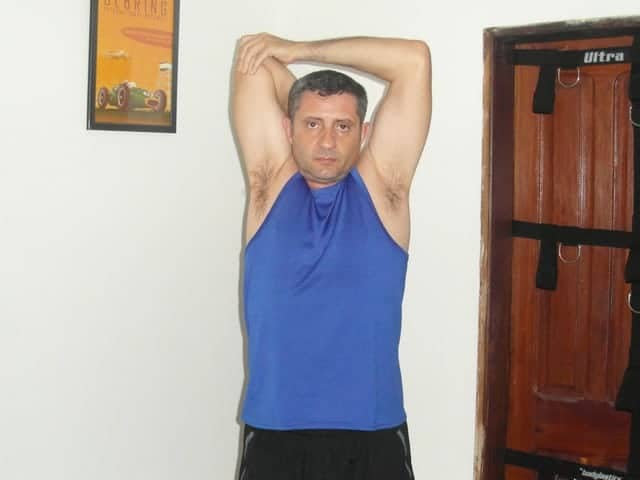 Exercice souplesse - Triceps