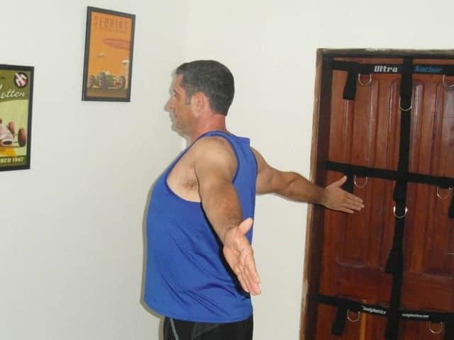 exercice souplesse - Pectoraux