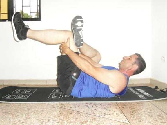 exercices souplesse - Arrière des hanches et fesses 2