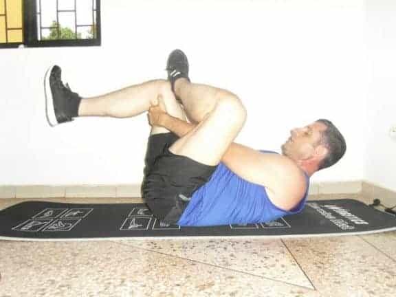 Stretching exercices - Arrière des hanches et fesses