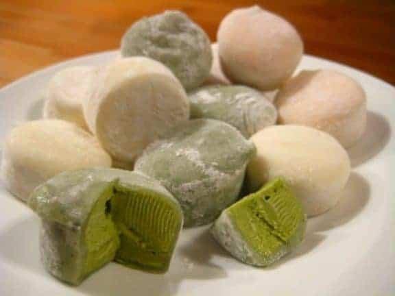 Cuisine japonaise - mochis glacés