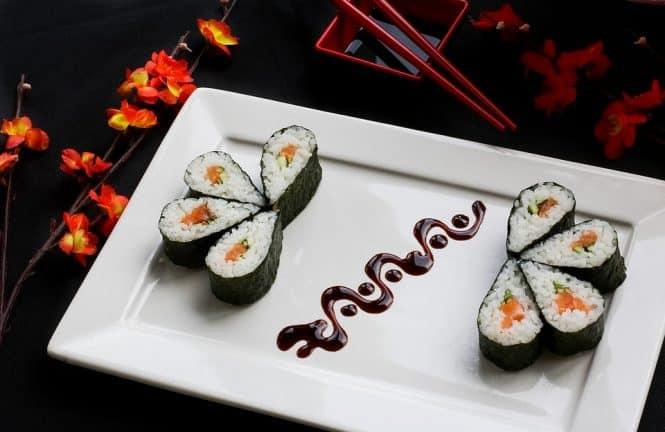 Cuisine japonaise - portions plus petites