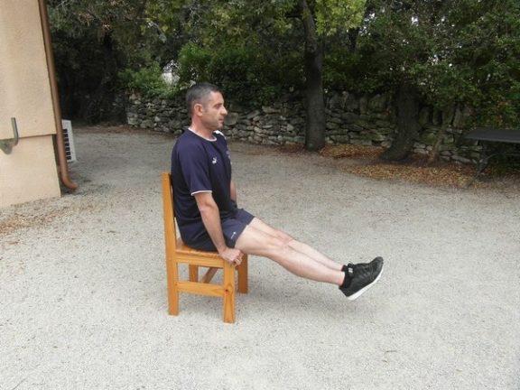 Exercices poids du corps - Contraction abdos 1