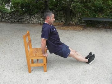 Exercices poids du corps - Triceps 3
