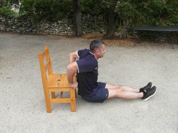 Exercices de sport à la maison - Triceps 2