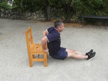 Exercices poids du corps - Triceps 4