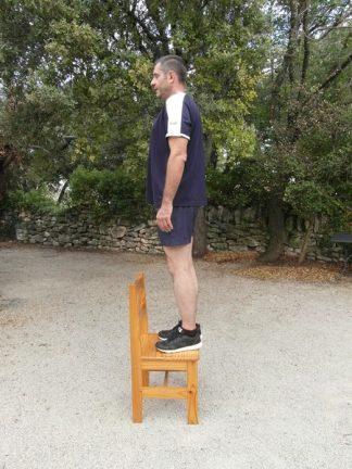 Exercices au poids du corps - Grand escalier 2