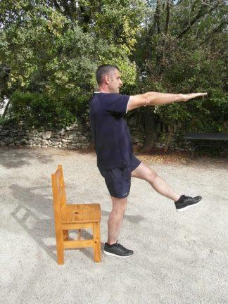 Squats une jambe 1
