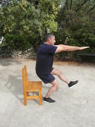 Squats une jambe 2