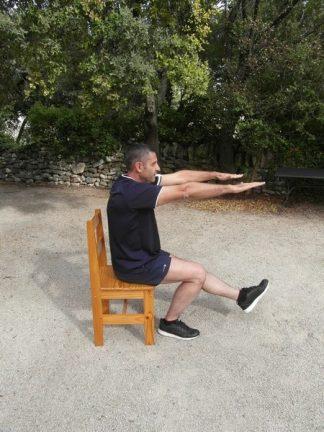 Squats une jambe 3