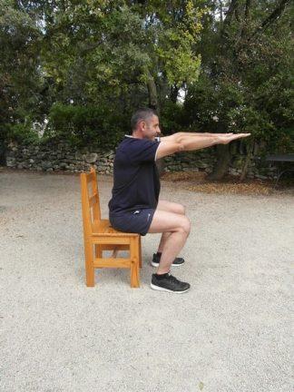 Exercices poids du corps - Box squats 2