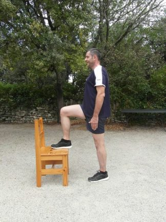 Relevé de jambe alterné 2