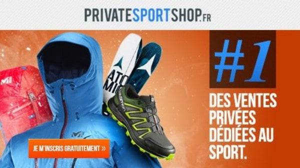Vente privée sport Private Sport Shop