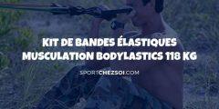 Kit de bandes élastiques musculation Bodylastics 183kg