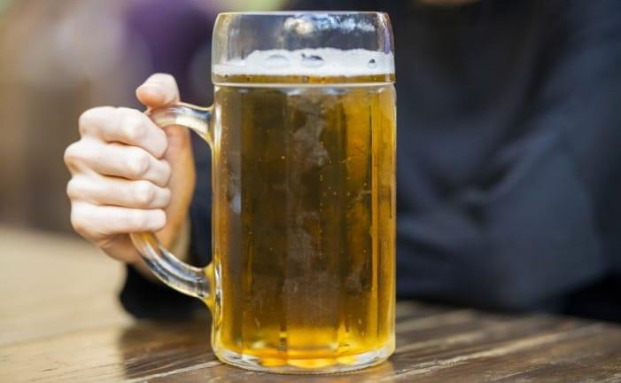 La bière fait grossir à cause des quantités