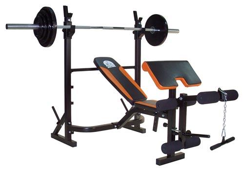 Banc de musculation multifonction Titan Bench