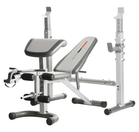 Banc multifonction musculation universel complet blanc Weider 290 CW