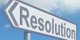 bonne résolution