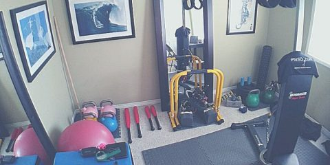 Home gym musculation maison