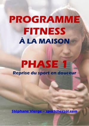 Programme fitness maison à télécharger