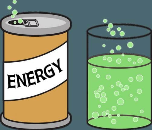 boisson énergétique ou énergisante