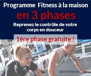 Ad Programme fitness 3 mois