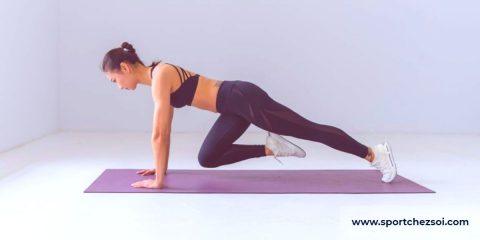 exercices de cardio à la maison