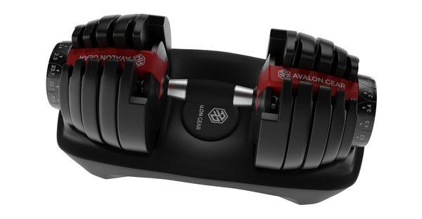 Haltères ajustables Type Bowflex